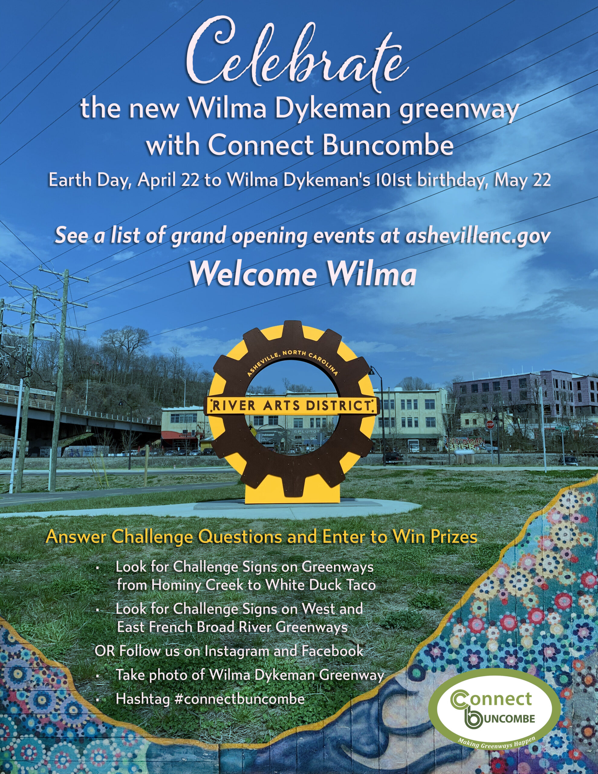 Wilma Celebration flyer