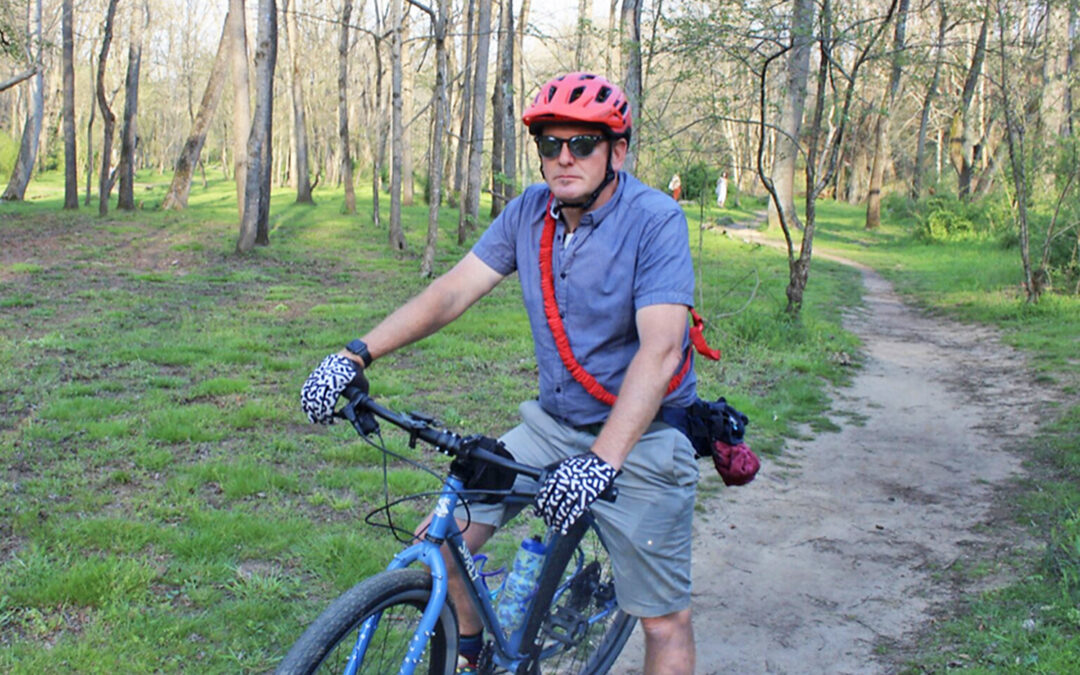 Asheville Unpaved initiative aims to create inner-city system of natural surface biking trails.